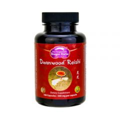 Dragon Herbs - Duanwood Reishi - Dietary Supplement - Bottle Front