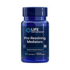 Life Extension - Pro-Resolving Mediators - 30 Softgels - Bottle Front