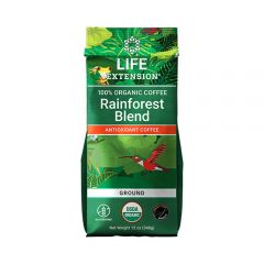 Life Extension - Rainforest Blend Antioxidant Coffee - Bag Front