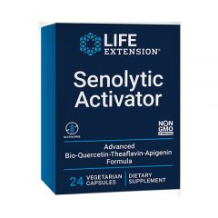 Life Extension - Senolytic Activator - Dietary Supplement -  Box Front