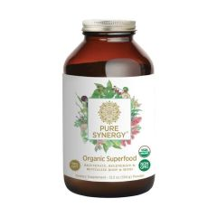 Pure Synergy - Organic Superfood - Dietary Supplement - Bottle Front